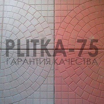 "ПЛИТКА ТРОТУАРНАЯ 35Х35 ""ПАУТИНКА"""